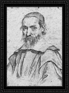 Peiresc d'après le dessin de Claude Mellan en 1636. Par PYAP.