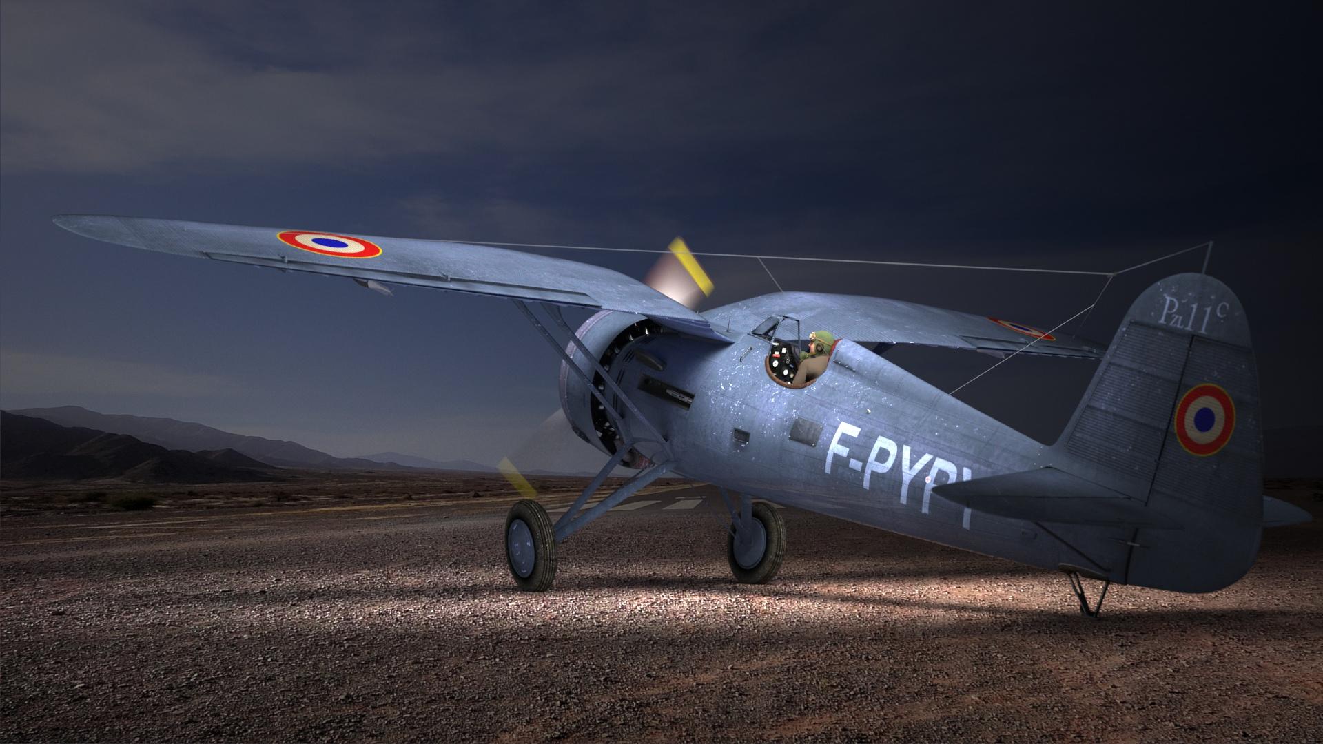 """PZL-P11c """"francisé"""" !"""