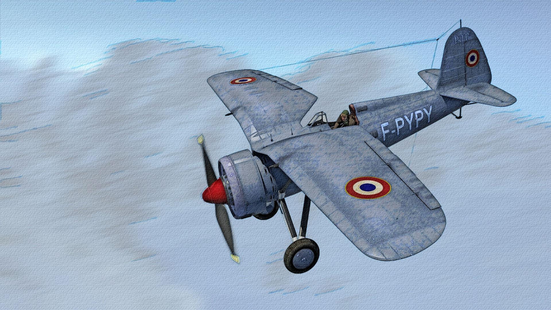 PZL P.11c dessin