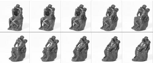 72 Photos de la statuette en bronze, le Baiser de Rodin.