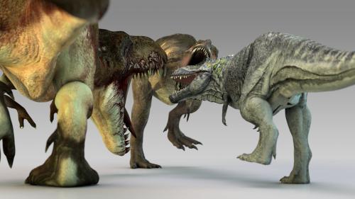 Tiranosaurus REX.