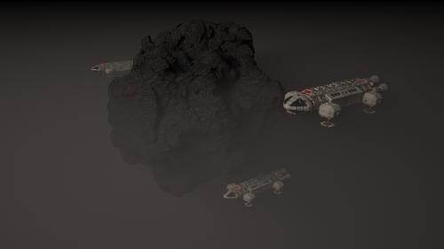 Asteroid Eagle 1, 2, 3