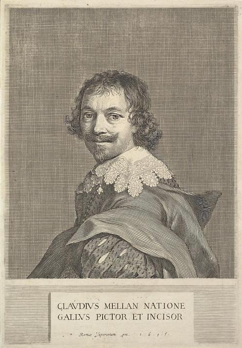 Claude Mellan. (Autoportrait)