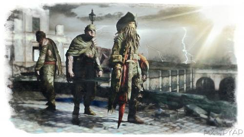 Davy Jones, et les pirates des Caraïbes