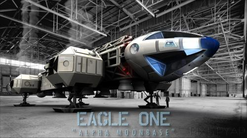 Eagle1, Hangar Cosmos1999