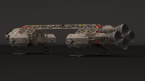 Eagle1 sans cargo de transport (VRAY)