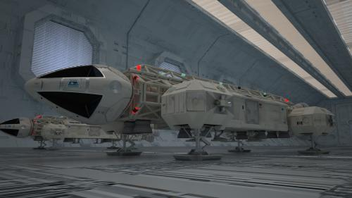 Eagle1 & Eagle 2 en maintenance (VRAY)