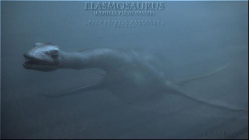 Elasmosaurus. VRay