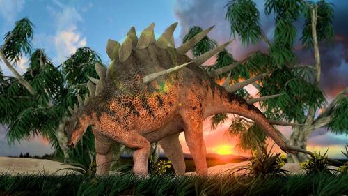 Kentrosaurus aethiopicus.
