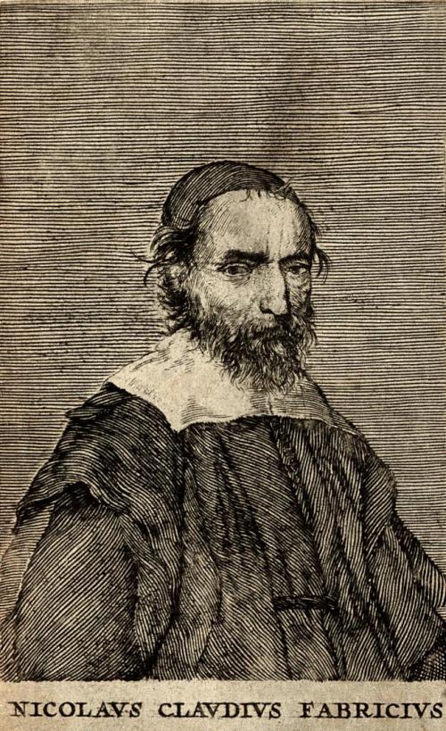 Gravure de Peiresc, Nicolas Claude Fabri de Peiresc par le graveur Claude Mellan