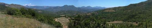 Panoramique de Champtercier, lieu de naissance de Pierre Gassendi (PIX by PYAP. 2001)