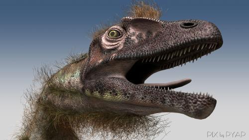 Utahraptor.