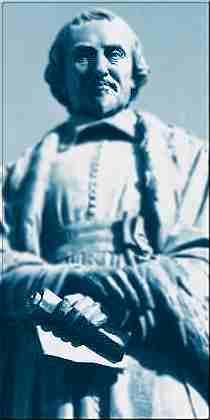 Statue de Pierre Gassendi, à Digne-les-Bains