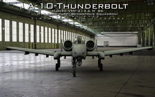 A-10 Thunderbolt face