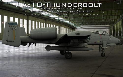 A-10 Thunderbolt profil