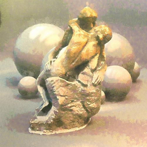 Le Baiser de Rodin.