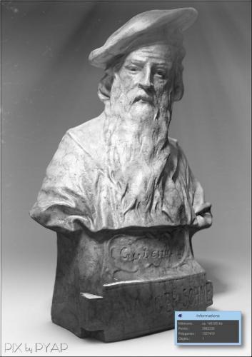 Buste de Gutenberg (imprimerie)