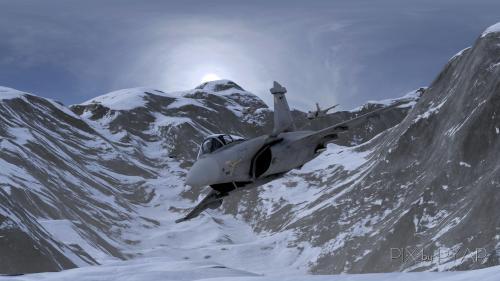 Dassault Rafale. Alpes